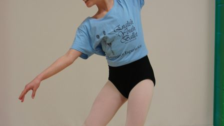 Eloise Holgate will be performing with the English Youth Ballet next month.