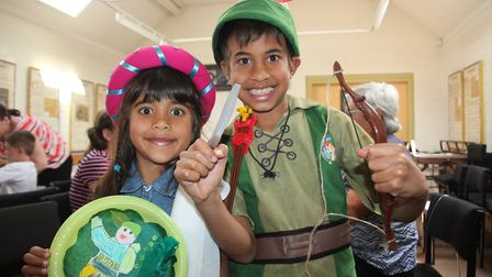 Ely Museum hosted a family fun activity day based on the story of Robin Hood.