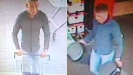Police appeal in connection with theft of ink cartridges worth £2,250 from Tesco in March.