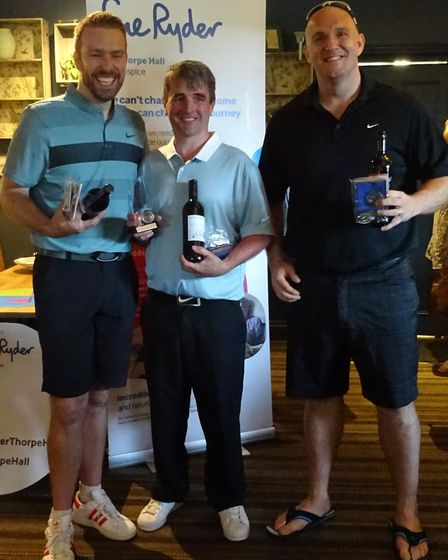 The winners of the Peter Tunley Memorial Day, Two And A Half Men.