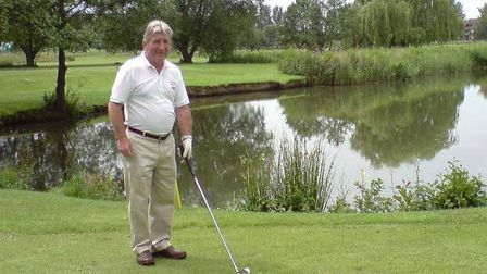 Former March councillor Peter Tunley, who passed away last year, pictured at Thorpe Wood golf course