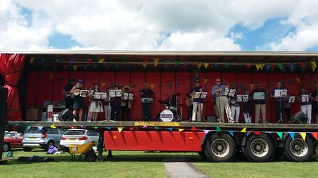Lyn of Littleport writes about the Rocking Ukuleles in her weekly column in the Ely Standard (June 7