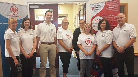 Debut Defibrillators for All screening day in Whittlesey is a success. PHOTO: Deborah Slator.