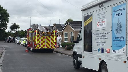 The scene of an incident on Breton Avenue, March, on June 6. PHOTO: Seb Pearce