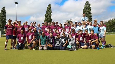 Stretham man Simon Webb was part of a six-a-side hockey tournament held in memory of former England