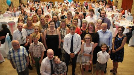 Ely Hero Awards - all the finalists at the awards ceremony held at The Maltings.