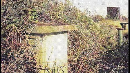 Littleport's secret nuclear bunker is barely visible through the undergrowth these days