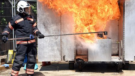 Whittlesey Fire Station's open day. PHOTO: Ian Carter