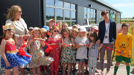 The Shade School has celebrated the official opening of a new wing with six classrooms.