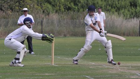 Alex Theobald hit 47 in Fordham's six wicket defeat to Fulbourn Institute.