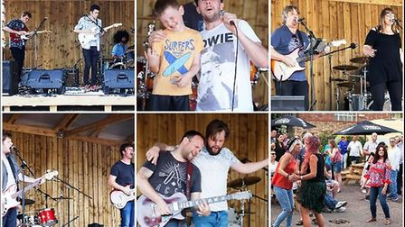 Day of live music at The Kings Arms, Ely, is a hit with punters.