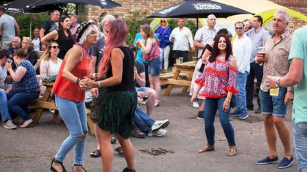 Dancers at The Kings Arms. PHOTO: Angela Smith.