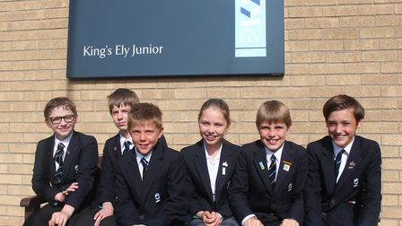 This year, 39 King's Ely Junior pupils achieved certificates, including seven gold, 17 silver and 15