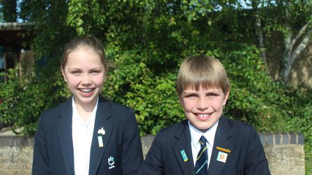 Eleanor and James MacGillivray have qualified for the Junior Maths Olympiad after achieving identica