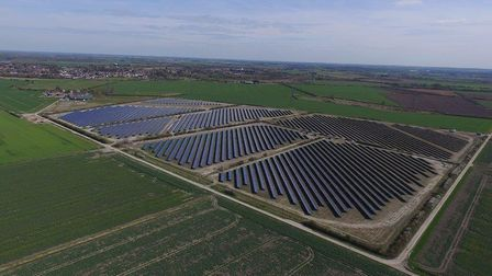 A new 12MW solar farm built by Cambridgeshire County Council was officially launched in Soham on Mon
