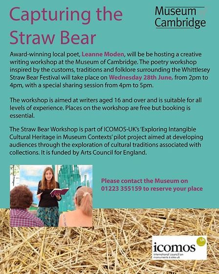 Capturing the straw bear workshop by Leane Moden PHOTO: Leanne Moden