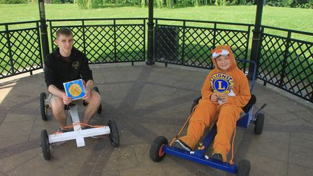 March's first ever Soap Box Derby - hosted by the March Lions - will take place this weekend.