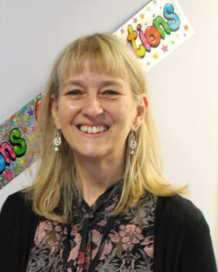 Clare Griffiths, headteacher at St Mary's School, Great Dunmow. Picture: ST MARY'S PRIMARY SCHOOL