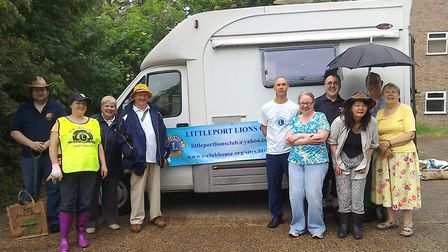 Littleport Lions join together on Saturday for a conservation task at Littleport's Peacock's Meadow
