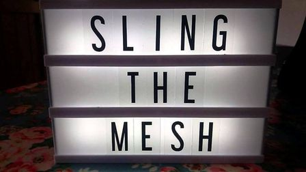 Sling The Mesh was launched in June 2015 to support women harmed by mesh implants used to fix proble