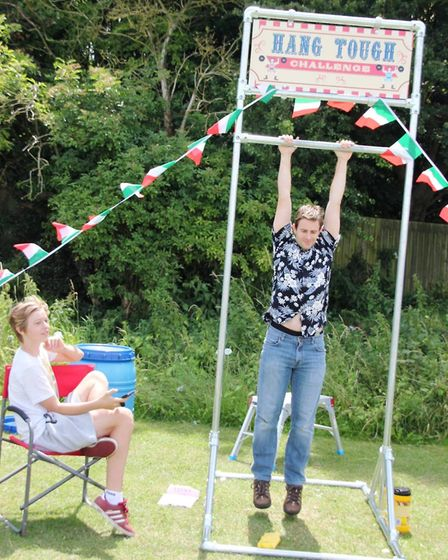 Hang Tough Challenge at Little Thetford Feast. PHOTO: Mike Rouse.