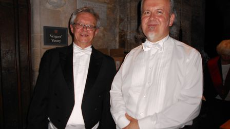 Conductors Andrew Parnell and Steve Bingham
