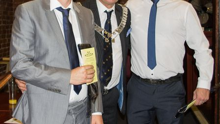 The new memebers of the Wisbech Business and Professional Men's Club