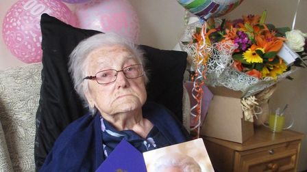 Lucy Sheppard celebrated her 100th birthday this week.