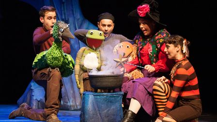 Room on the Broom is in Cambridge this July. Picture: HELEN WARNER