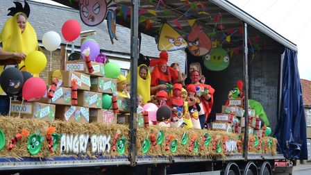 Angry Birds float