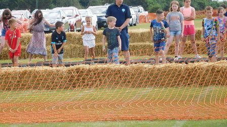 Runners involved in Doddington Sports Day. Picture: ALICE HOWARD