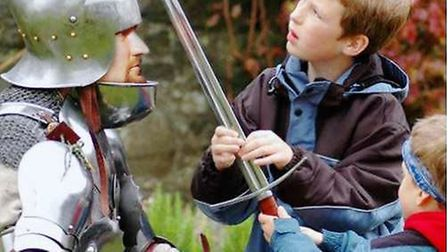 Sword School is one of the many activities on offer at Wimpole History Festival.