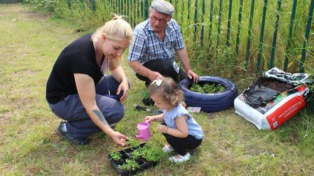 Community morning at a traveller's site in Wisbech PHOTO: FDC