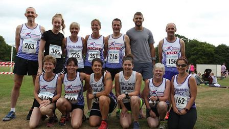 Fenland Running Club competed in the Abbey 10k.