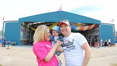 Gemma Smart, 31 from Littleport, braved a skydive to say thank you to the charity which supported he