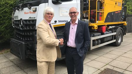 A new 34 million a year highway services contract has been awarded to Skanska to help the County Cou