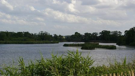 Roswell Pits in Ely where swimmers have been causing problems with litter and swearing.