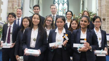 King's Ely International prize-giving