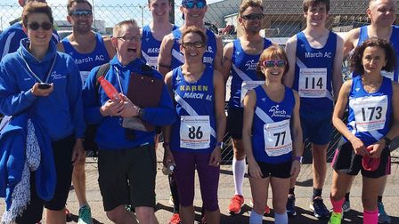 March Athletic Club runners hosted the Whitemoor 5 mile race last weekend.