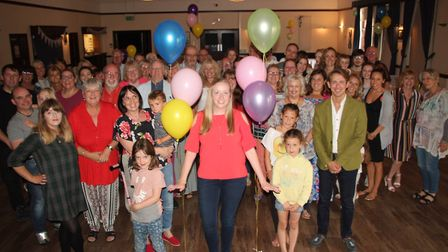 Viva Soham throw farewell party at The Brook as thank you to Hetti Wood.