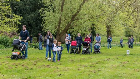 The Gardens of Easton Lodge will be included in the walk. Picture: SAFFRON PHOTO