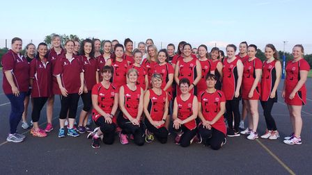 Ely Netball Club currently has five sides - and could add a sixth later in the year.