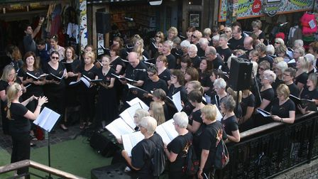 Sing! Choirs is celebrating a great year so far having turned five-years-old.