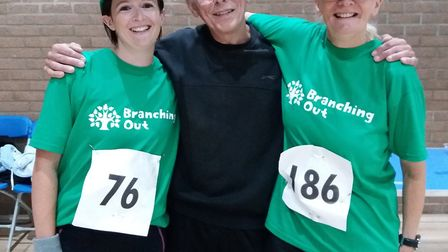 Amy Williams, Harry Coleby and Cathy Gibb-de Swarte.