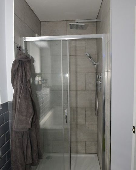 The new bathroom finished to a high standard thanks to a military charity