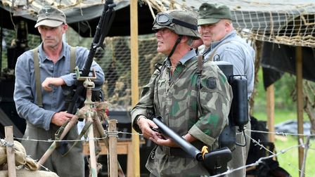 Action from the 2017 Festival of the Forties in March. PHOTO: Ian Carter