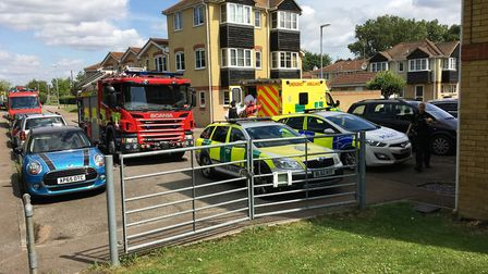 Man rescued from Riverdown in March.