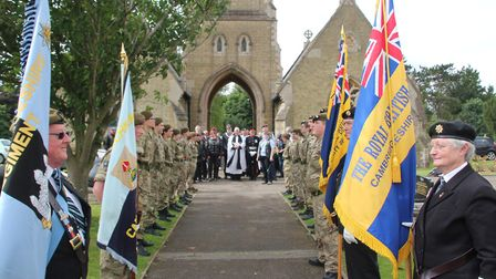 The Riders branch of the Royal British Legion wheeled into Ely last weekend to pay their respects to