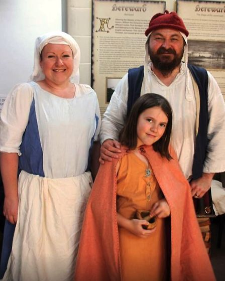 Medieval day at Ely Museum PHOTO: Mike Rouse