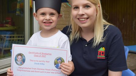 Clarence House Day Nursery in Chatteris said goodbye to its 'Class of 2017' with a week full of acti